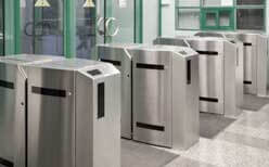 commercial gates and operators, turnstiles, central il