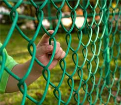 residential chain link fence central il