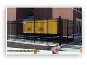 commercial ornamental fencing central il