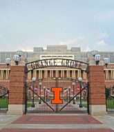 Photo of the Grange Grove ISU gate.