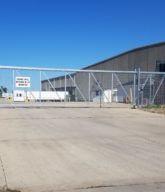 Photo of the Mitsubishi plant gate operator.