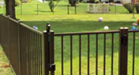 residential ornamental fencing central il
