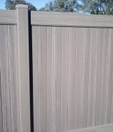 Photo of a weather-resistant cedar fence.