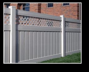 vinyl fencing central il
