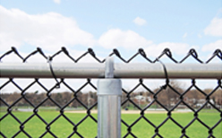 Photo of Commercial & Residential Chainlink Fence Installation in Champaign-Urbana, IL