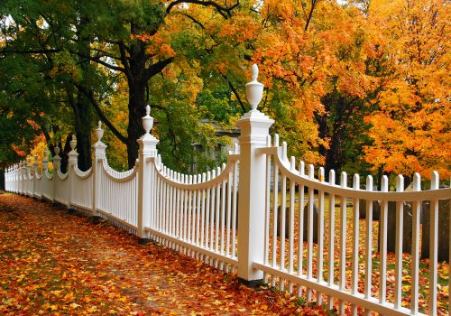 Fall's the Best Time for Your New Fence